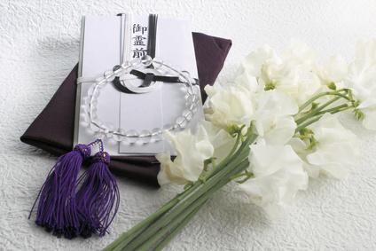 香典袋数珠花