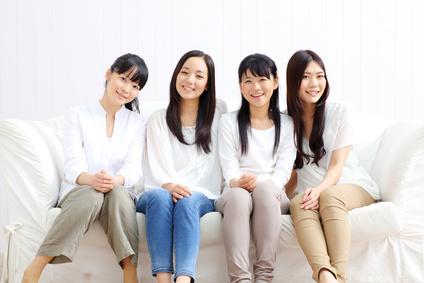 女の子四人