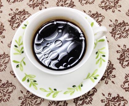 ココナッツオイル入りコーヒー