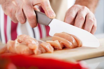 Raw Chicken filet