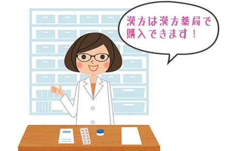 漢方の書き方