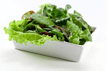 葉物野菜の画像