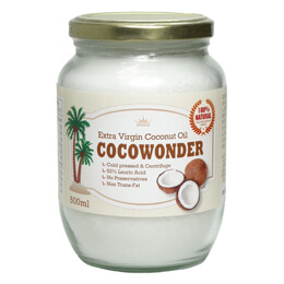 coco wonder ココナッツオイル エキストラバージン