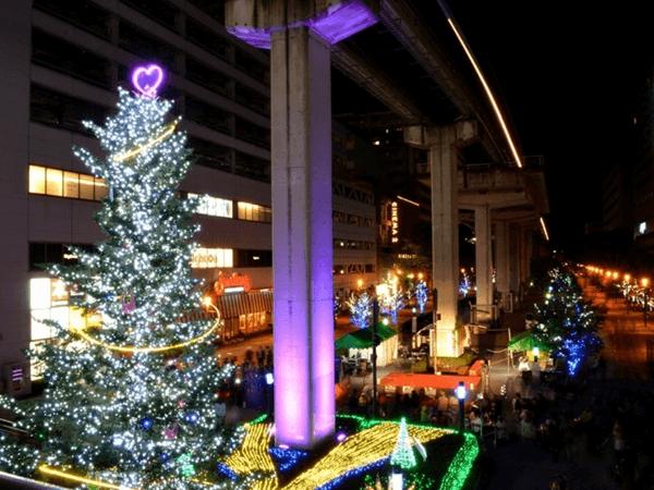 立川駅北口サンサンロードTachikawa燦燦Illumination