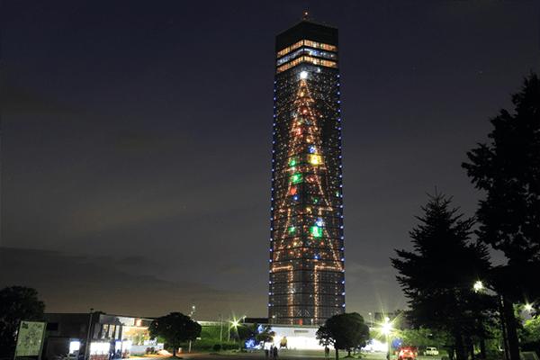 千葉ポートタワー Cサイドクリスマス