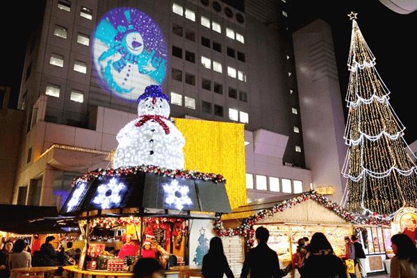 梅田スカイビル・ワンダースクエア ドイツ・クリスマスマーケット大阪