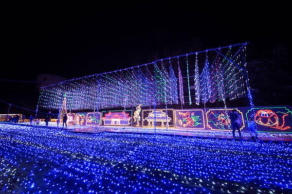 沖縄こどもの国 クリスマスファンタジー沖縄