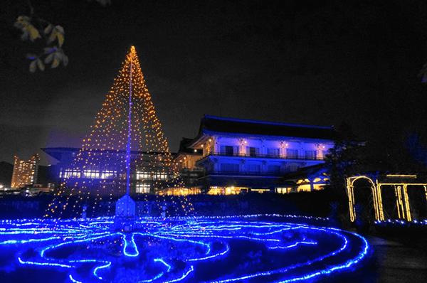 びわ湖大津館 2016イルミネーション「光の庭のRose Fantasy」