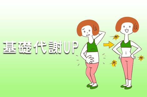基礎代謝UP