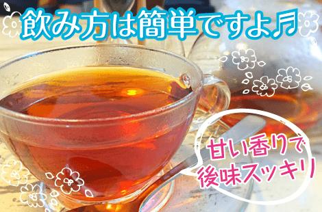 モリンガ茶の飲み方