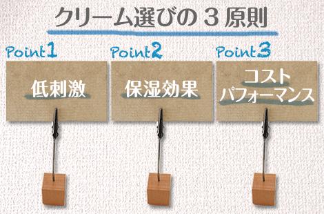 選び方3つのポイント
