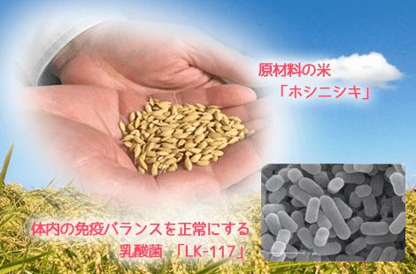 米のしずく 材料