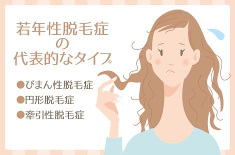 若年性脱毛症