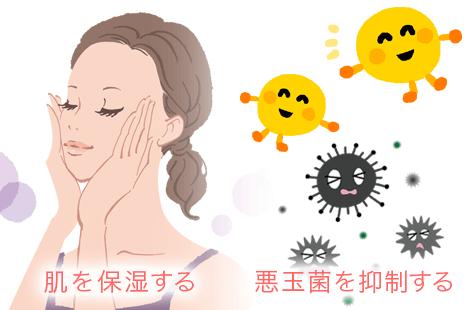 美肌菌 効果