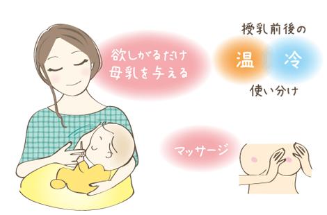 母乳詰まり 解決法