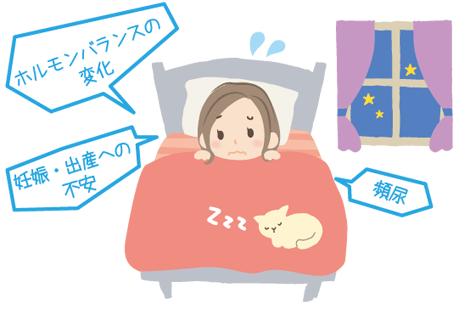 妊娠超初期 不眠