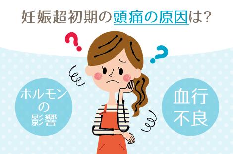 妊娠超初期 頭痛 原因