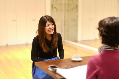 齋藤由紀子 取材02