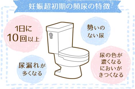 頻尿の特徴