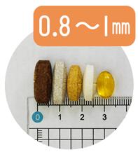 美的ヌーボプレミアム 粒サイズ