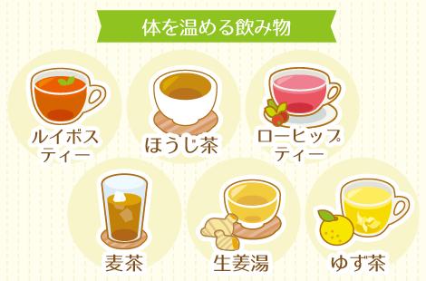 寒気改善飲み物