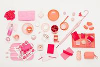 ピンク オレンジ 雑貨