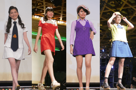 万博ファッションショー