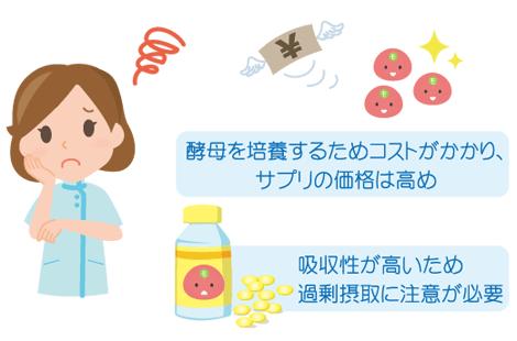 酵母葉酸 デメリット