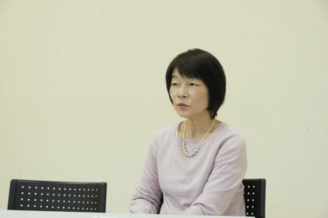 奥野恵子 取材1